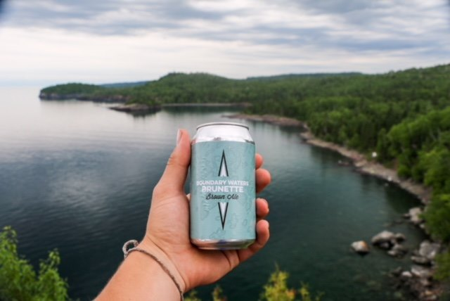 Cans by Voyageur Brewing Company